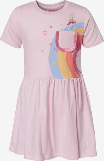 LEMON BERET Jerseykleid in rosa, Produktansicht