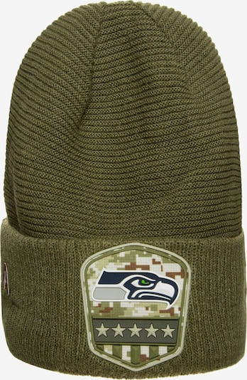 NEW ERA Muts 'NFL Seattle Seahawks' in de kleur Kaki, Productweergave