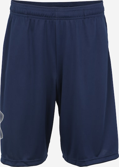 UNDER ARMOUR Shorts in navy / weiß, Produktansicht