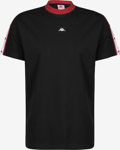 KAPPA T-Shirt 'Authentic JPN Barta' in rot / schwarz / weiß, Produktansicht
