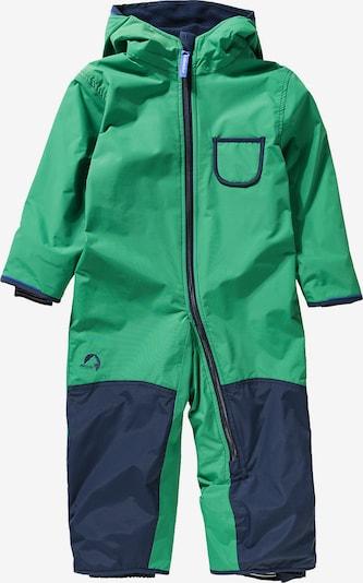 FINKID Overall 'Pikku' in navy / grün, Produktansicht