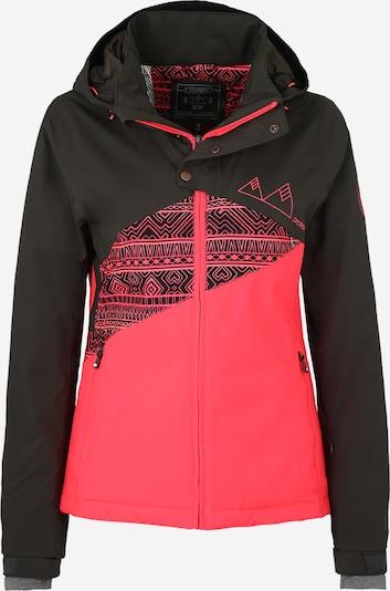 PROTEST Sport-Jacke 'PRECISE' in pink / schwarz, Produktansicht