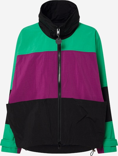 DIESEL Přechodná bunda 'G-Wayne' - zelená / fialová / černá, Produkt