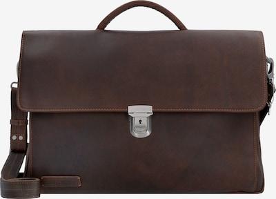 Plevier Document Bag in Chestnut brown, Item view