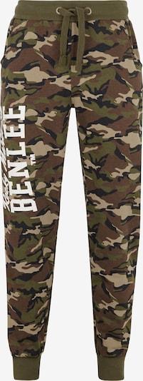 Benlee Jogginghose in beige / braun / grün / schwarz, Produktansicht