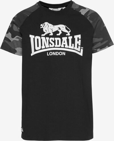 LONSDALE Shirt in schwarz, Produktansicht