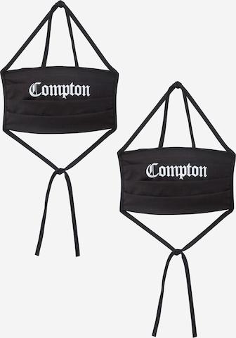 Mister Tee Szövetmaszk 'Compton' - fekete
