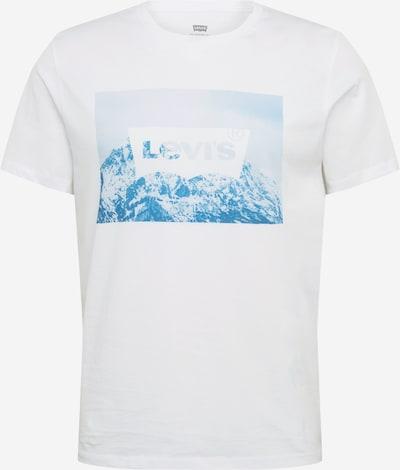 LEVI'S T-Shirt in blau / weiß, Produktansicht