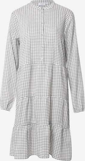 SAINT TROPEZ Kleid 'Lea' in schwarz / wollweiß, Produktansicht