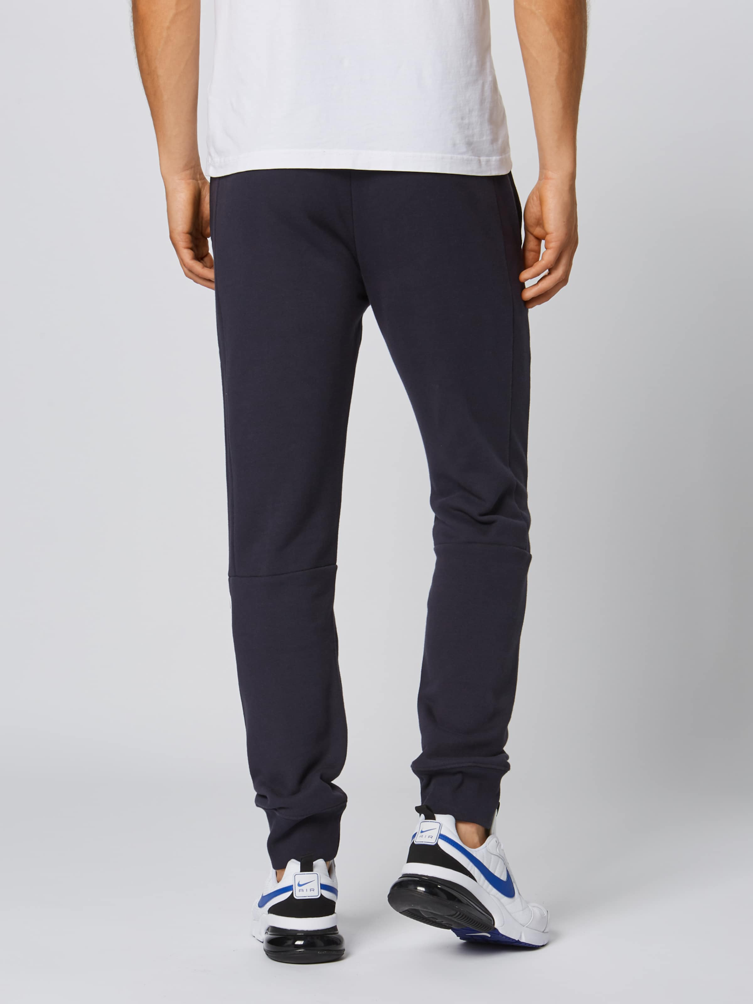 Pantalon 'rib Bleu Champion Cuff' FoncéBlanc Authentic Athletic En Apparel Ok8n0Pw