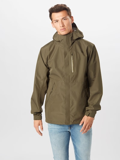 THE NORTH FACE Sportjacke 'DRYZZLE' in oliv: Frontalansicht