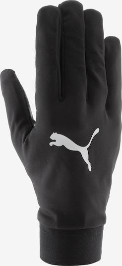 PUMA Fingerhandschuhe in schwarz / weiß, Produktansicht