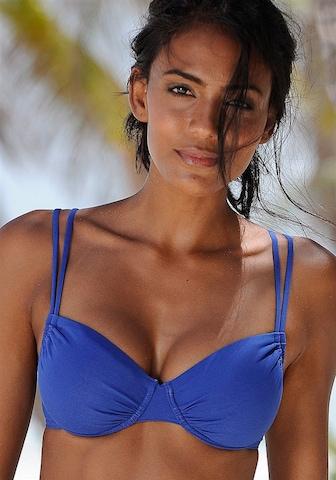 BUFFALO Τοπ μπικίνι 'Happy' σε μπλε