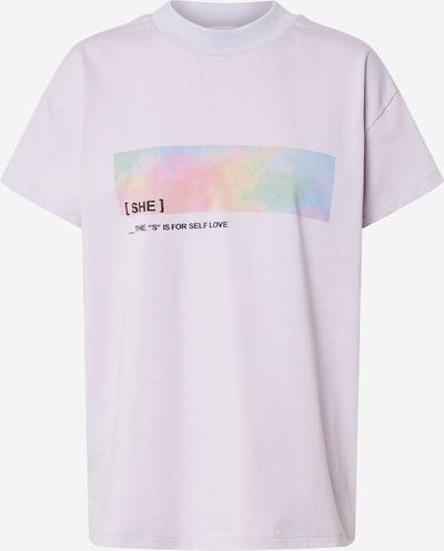 ABOUT YOU x GNTM T-shirt 'Clara' en lilas, Vue avec produit