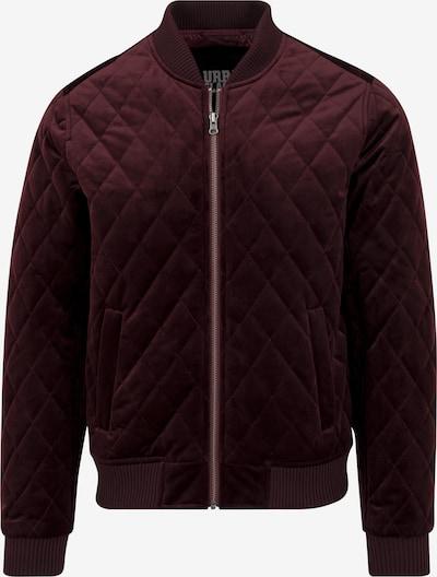 Urban Classics Jacket in burgunder, Produktansicht