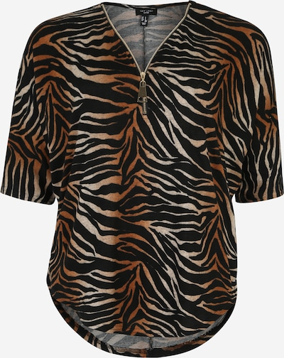 New Look Curves Tuniek 'X C&S Ombre Tiger' in de kleur Bruin, Productweergave