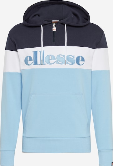 ELLESSE Bluzka sportowa 'Secora' w kolorze goryczka / jasnoniebieski / białym, Podgląd produktu