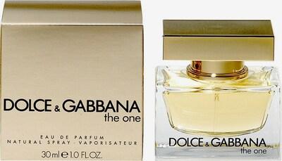 DOLCE & GABBANA 'The One', Eau de Parfum in gold, Produktansicht