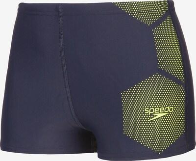 SPEEDO Badehose in dunkelblau / gelb, Produktansicht