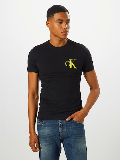 Calvin Klein Jeans Tričko - čierna, Model/-ka