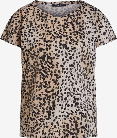 SET Shirt in beige / schwarz, Produktansicht