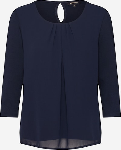 MORE & MORE Bluse in marine, Produktansicht