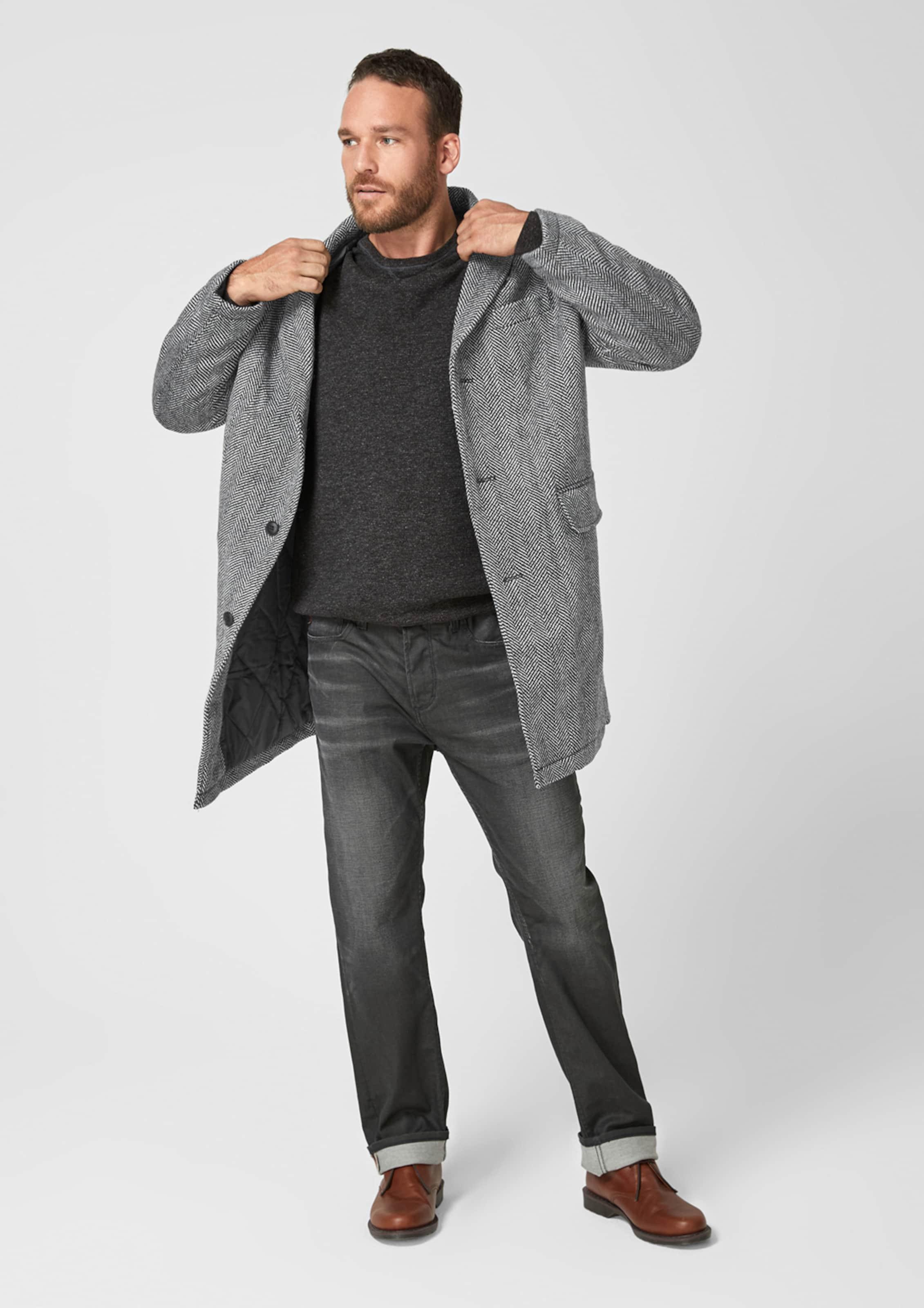 Label oliver SchwarzWeiß Mantel S Red In tsCxBoQhrd