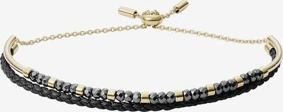 FOSSIL Armband in gold / schwarz, Produktansicht