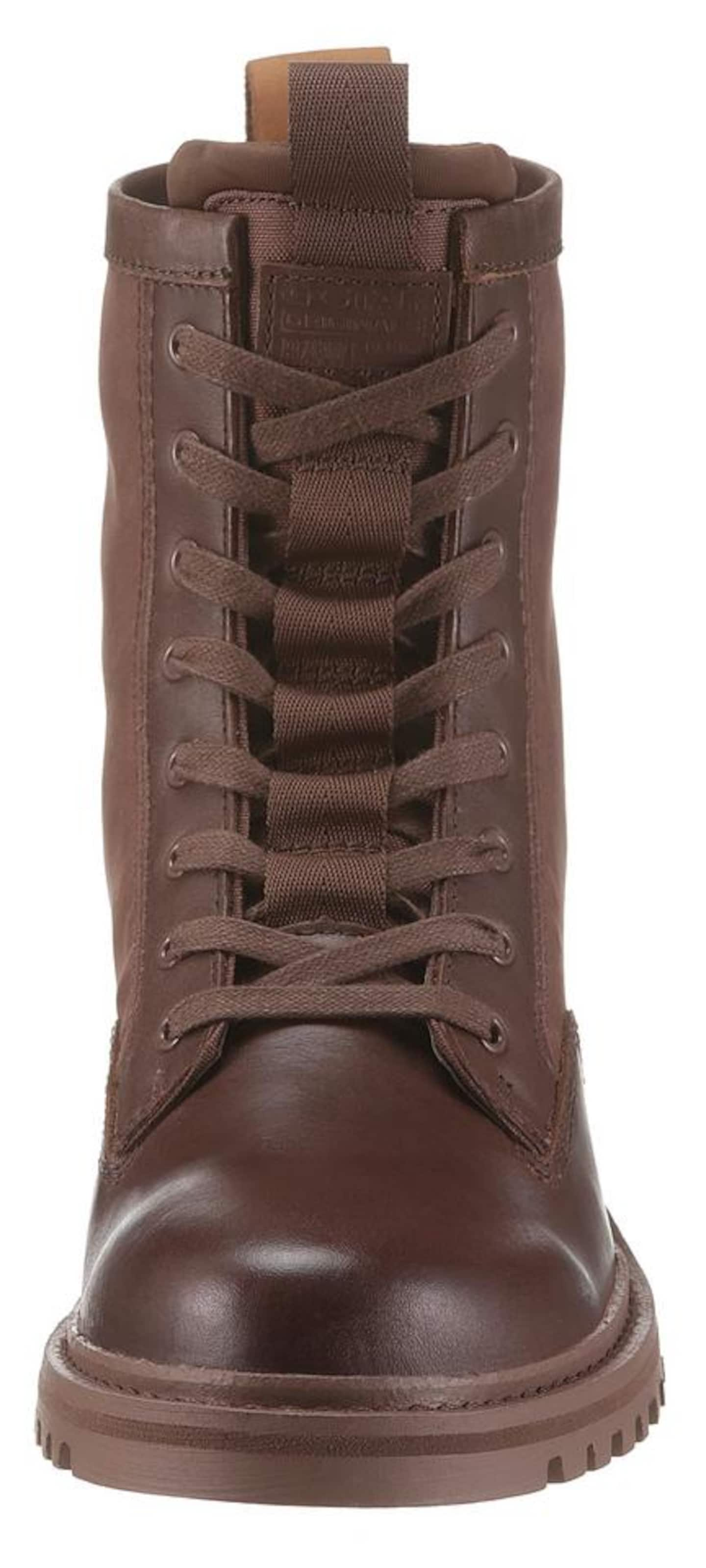Bottes 'core' Lacets En À Raw G Marron star 5jR34LA
