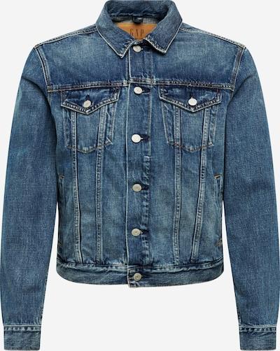 GAP Jeansjacke 'ICON DENIM JKT NEW MEDIUM INDIGO' in blue denim, Produktansicht