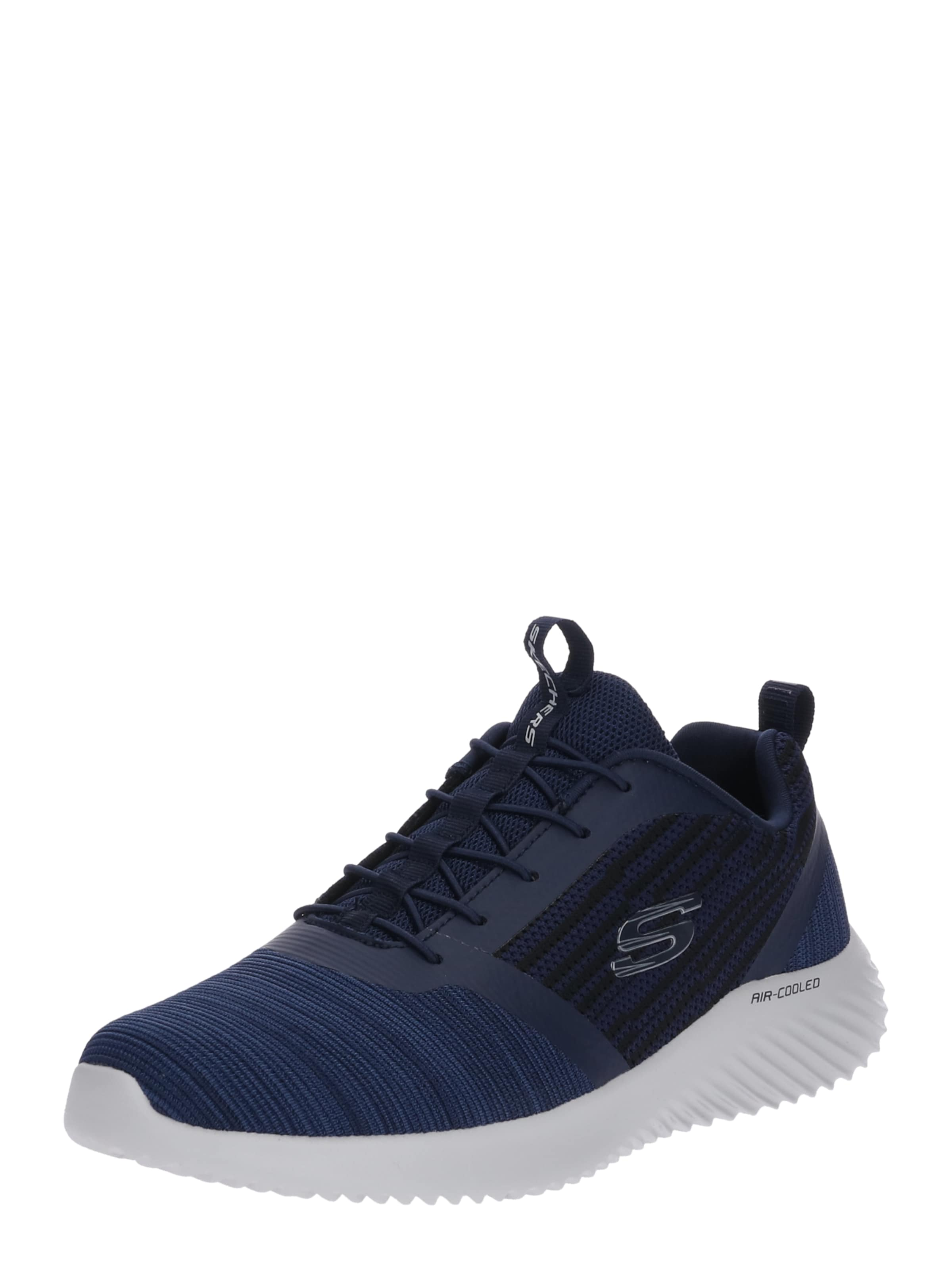 Navy 'bounder' Sneaker Skechers Skechers 'bounder' Skechers In Navy Sneaker In 0kXnOPw8