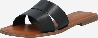ALDO Slipper 'Andonia' in schwarz: Frontalansicht