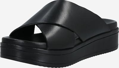 Šlepetės iš SHABBIES AMSTERDAM , spalva - juoda, Prekių apžvalga