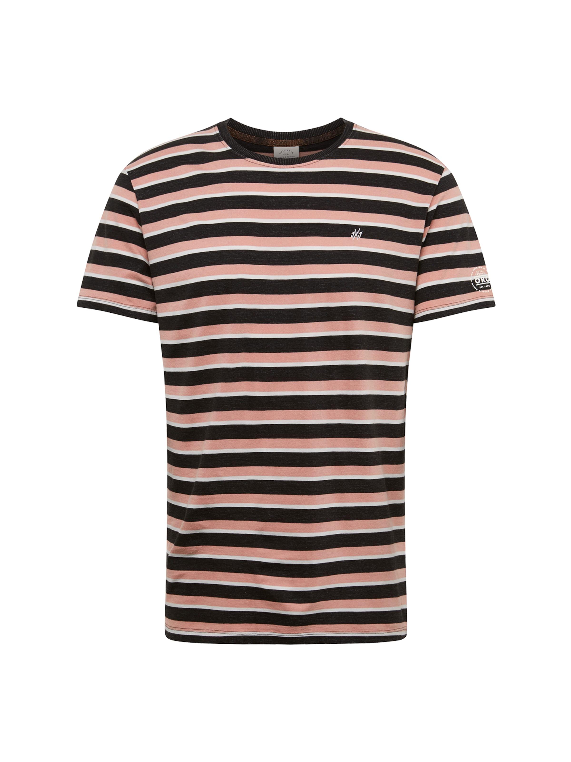 Shirt 'jorhank BeigeDunkelbraun In Tee' Jones Jackamp; ZTOuXPki