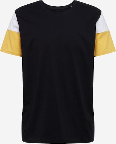 EDC BY ESPRIT Shirt in gelb / schwarz / weiß, Produktansicht