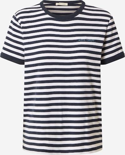 Marc O'Polo T-Shirt in dunkelblau / weiß, Produktansicht
