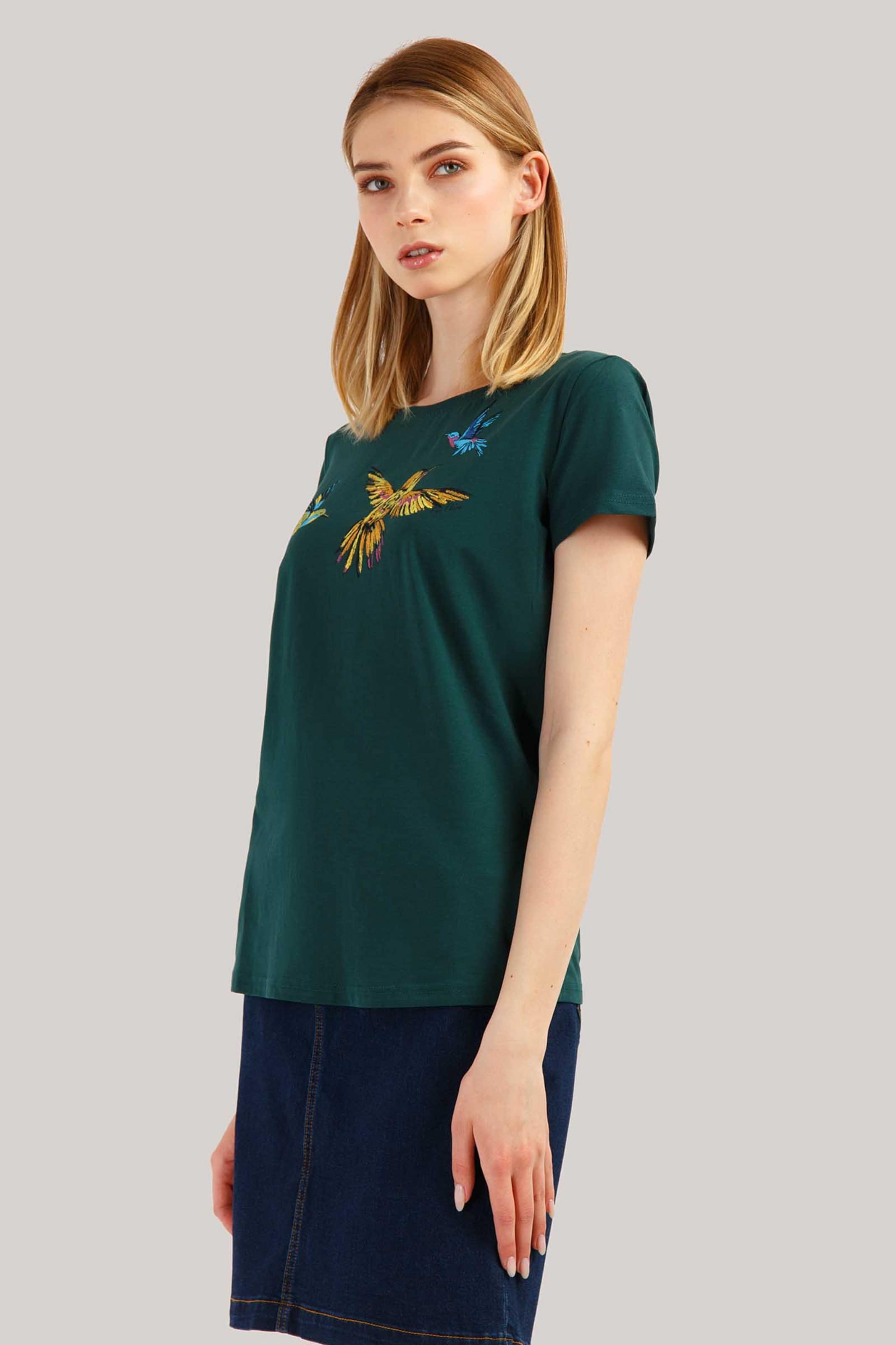 shirt Finn T Flare DunkelgrünMischfarben In 45Rqj3AL