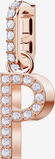 Swarovski Charm in rosegold / transparent, Produktansicht