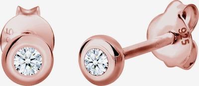 Diamore Oorbellen in de kleur Rose-goud / Wit, Productweergave