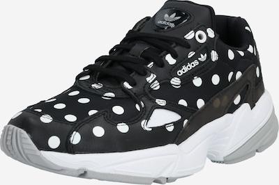 ADIDAS ORIGINALS Sneakers laag 'FALCON' in de kleur Grijs / Zwart / Wit, Productweergave