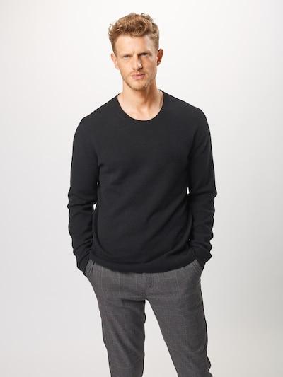 Megztinis 'SVENLAND' iš AMERICAN VINTAGE , spalva - juoda: Vaizdas iš priekio
