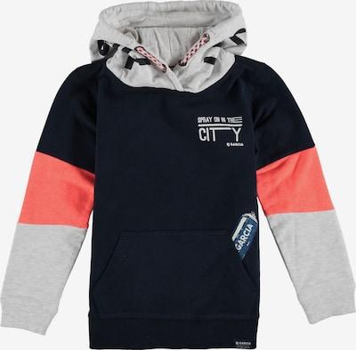 GARCIA Sweatshirt in navy / grau / apricot, Produktansicht
