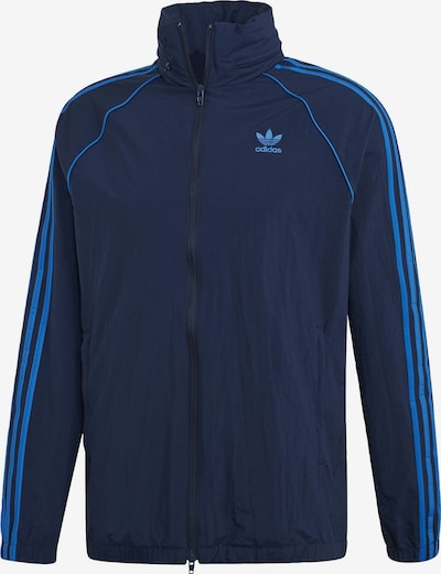 ADIDAS ORIGINALS Windbreaker 'SST' in blau / navy: Frontalansicht