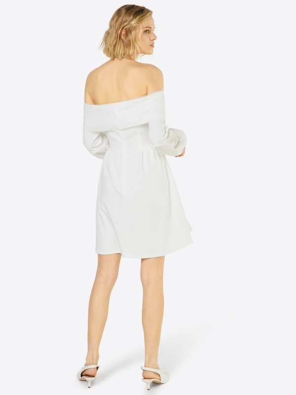 Lost Ink Kleid Bardot Hybrid Dress