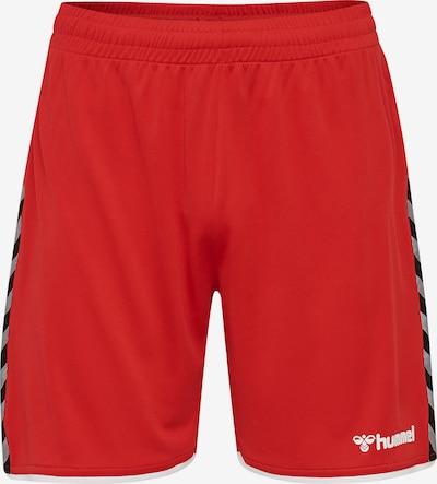Hummel Trainingsshorts in rot, Produktansicht