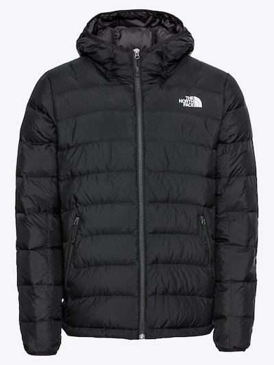 THE NORTH FACE Winterjas 'M LA PAZ HOODED JKT' in de kleur Zwart / Wit, Productweergave