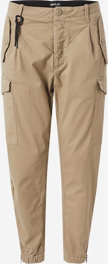 REPLAY Cargo trousers in beige, Item view