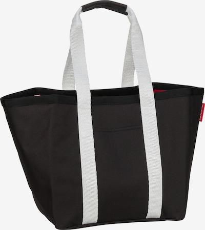REISENTHEL Einkaufstasche 're-shopper 1' in schwarz / weiß, Produktansicht