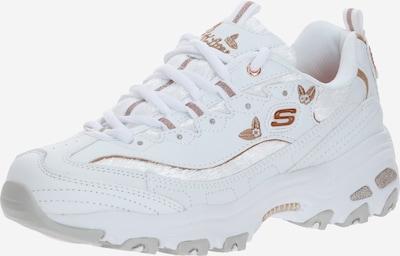 SKECHERS Sneaker in gold / weiß, Produktansicht