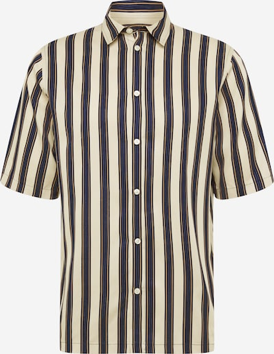 Samsoe Samsoe Hemd 'Taro NX ' in beige / blau / schwarz, Produktansicht